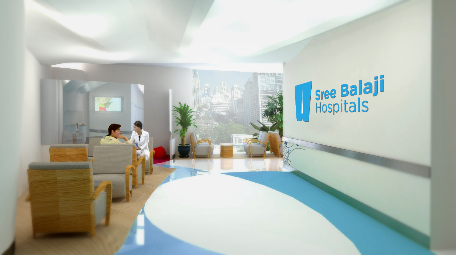 Sree balaji hospital disside branding agency for Interior design branding agency